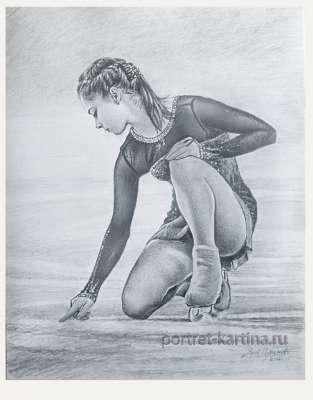 Юлия Липницкая Олимпийская чемпионка. Сочи-2014.