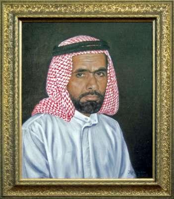 Житель Дубая.