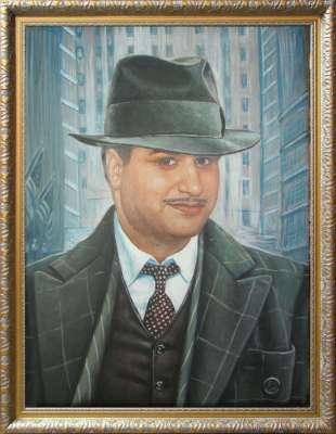 Портрет в образе гангстера