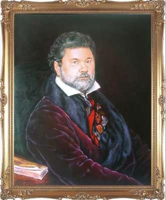 Портрет, стилизованный под классику