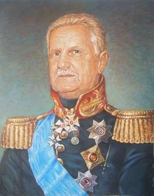 Портрет в образе Барклая де Толли