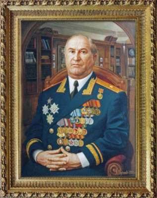 Портрет генерала в итерьере