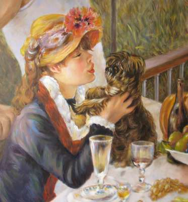 Дама с собачкой (фрагмент)