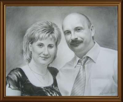 Люда и Саша. 2009.