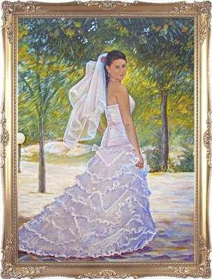 Невеста. Парадный портрет.