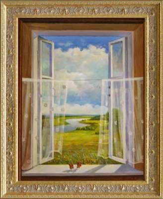 Пейзаж ''открытое окно''