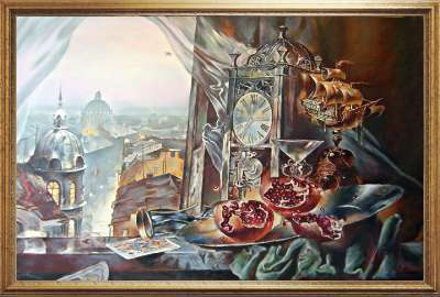 Копия картины Славинского