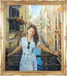 Портрет на фоне Венеции